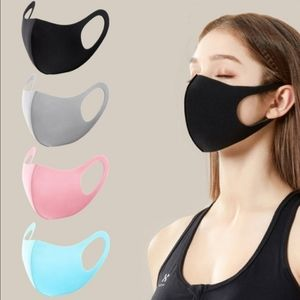 Accessories - Three Face Masks - Facemask Face Mask